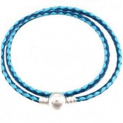 Bracelet Tressé Clip fantaisie 02