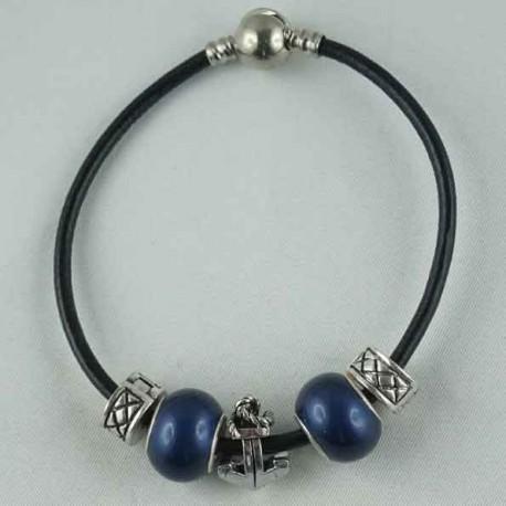 Bracelet réalisé Cuir N°06