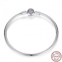 Bracelet N°000 Jonc En Argent