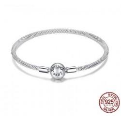 Bracelet N°0000 En Argent