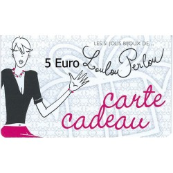 Carte Cadeau N°01-5 Euro
