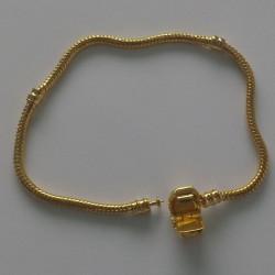 Bracelet N°02 Clip Doré