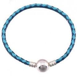 Bracelet Tressé Clip fantaisie 01