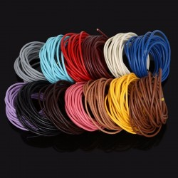 Collier clip cuir N°20