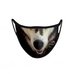 Masque Lavable Chien 02-D