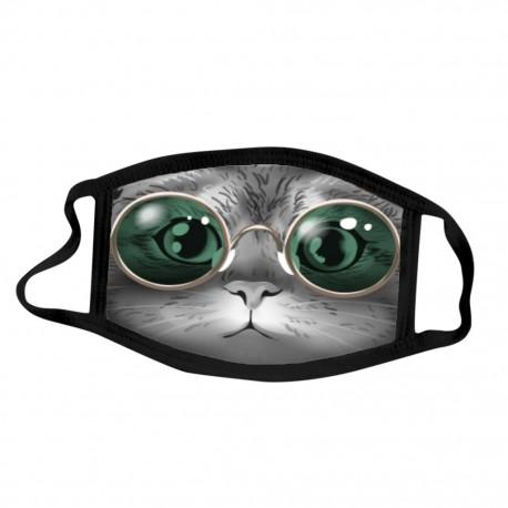 Masque Lavable à filtre Chat 01-C