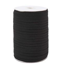 Élastique plat 3 mm Noir x 180 mètres