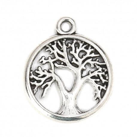 Breloque arbre de vie argent N°01