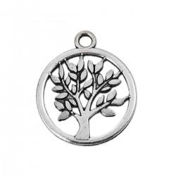 Breloque arbre de vie argent N°02