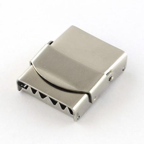 Fermoir clip griffe pour cuir 20 mm de large