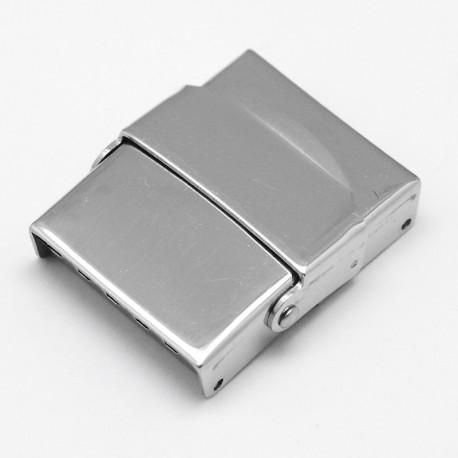 Fermoir clip griffe pour cuir 20 mm de large N°02