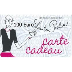 Carte Cadeau N°11-100 Euro